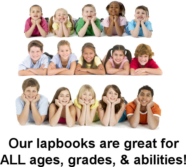 Children of all ages benefit from learning through lap books